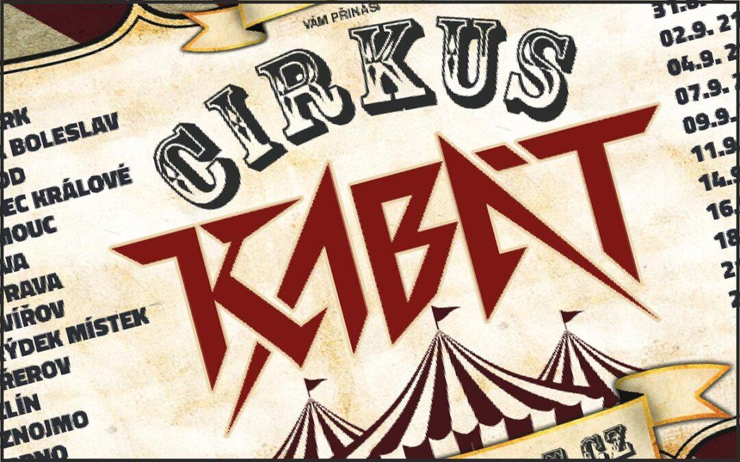 Letní Cirkus Kabát 2021, původní Turné 2020/21 přeloženo na 2022